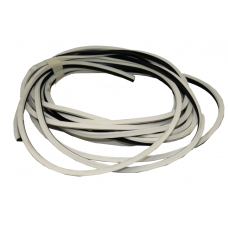 RUBBER BAND (WHITE WITH BLACK)
